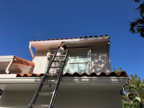 House Painting a Weston, FL Home