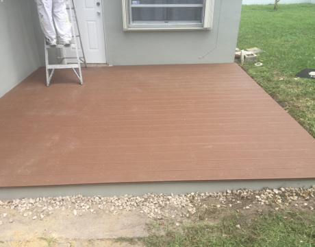 Home Remodeling New Patio
