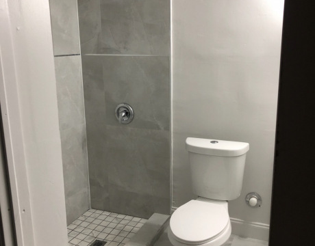 New Shower and Toilet after Davie FL Home Bathroom Remodeling