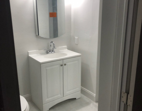Bathroom Remodeling New Sink, Vanity, and Cabinetry