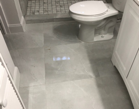 Bathroom Renovations in Davie, New Flooring
