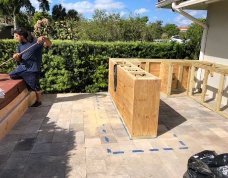 Home Remodeling in Miramar, FL for Outdoor Kitchen