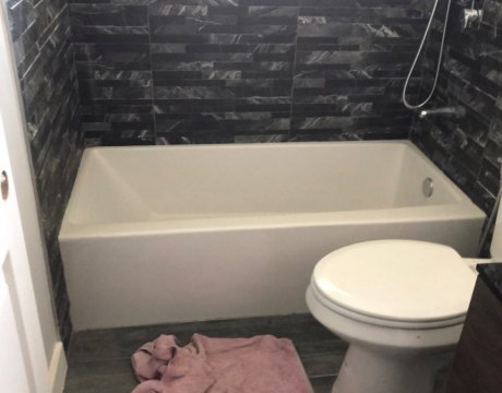Bathroom Remodeling Tub and Tiling