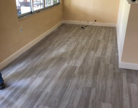 Interior Remodeling and New Floors in Hollywood, FL