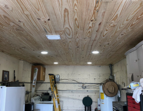 Interior Remodeling in Fort Lauderdale with Wood Ceiling