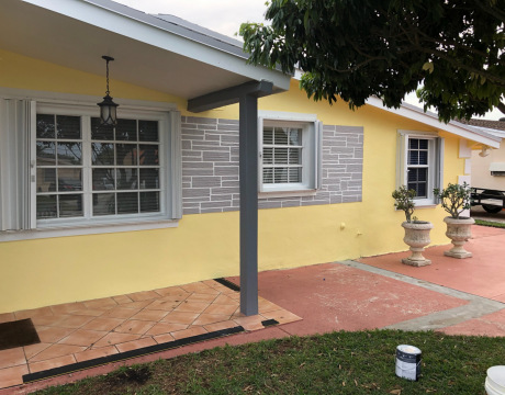 Exterior House Painting in Hollywood FL