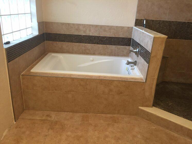 Bathroom renovation in Weston